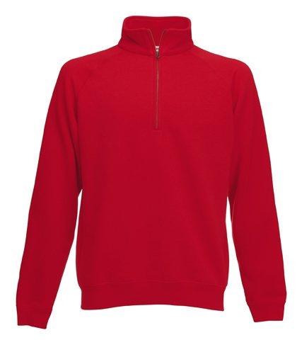 Herren Zip Neck Sweatshirt Pullover Stehkragen Shirt Jacke verschiedene Größe und Farben Shirtarena Bündel