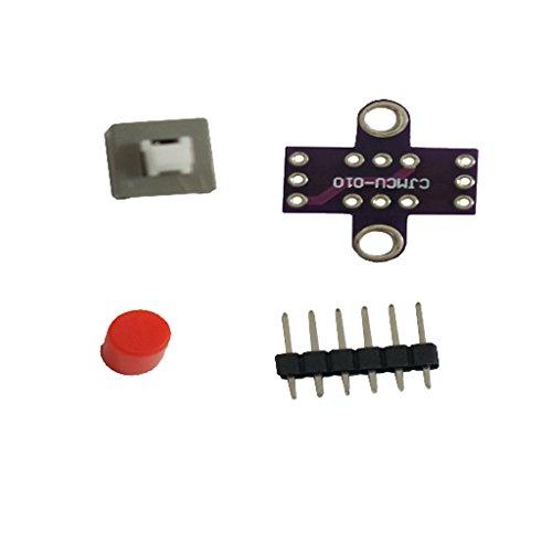 押しボタンスイッチ セルフロック タクトスイッチ キャップ ボード付 レッド