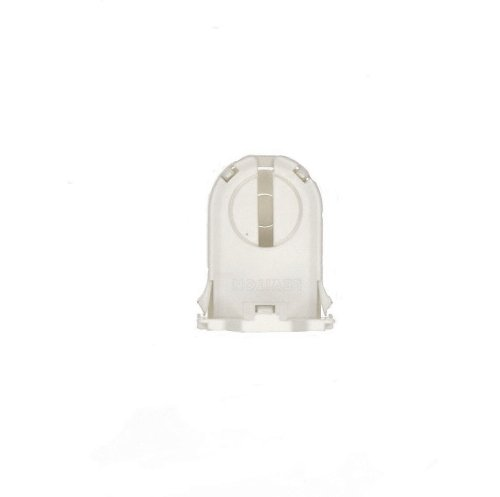 Leviton 23661-SWP Fluorescent Lampholder, White