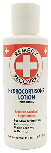 (Remedy + Recovery 0.5% Hydrocortisone Lotion for Dogs, 4 oz.)