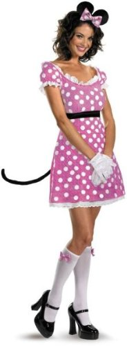 Sassy Pink Minnie Mouse Costume - Small - Dress Size 4-6