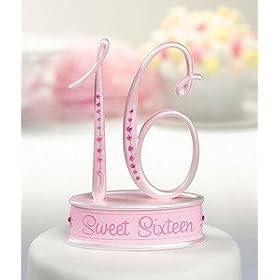 Sweet Sixteen Caketop