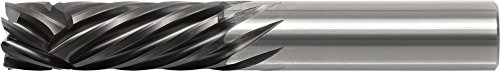 KYOCERA 1890-2500V1000 Series 1890 Standard Length Square End Mill, Carbide, CVD Diamond, 30 Degree Angle, 4 Flute, 1/4