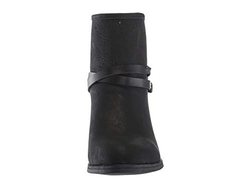 Blowfish Metallic Slay Bell Boots Women Black O6Wr8OUq