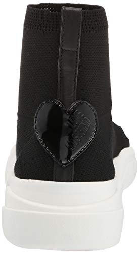 Moschino Nero nero Calzino nod Love Donna 000 Infilare running35 Sca Sneaker SqFdxgwd