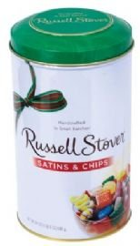 Russell Stover Satins & Chips, 1.5 lb. Tin