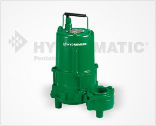 Hydromatic Submersible Pumps (Hydromatic SPD100MH2 1 HP, 1 Phase, 230 Volt, High-Head Effluent Pump (Manual))