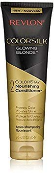 Revlon Colorsilk Colorstay Nourishing Conditioner, Glowing Blonde, 8.45 fl oz (Pack of ()