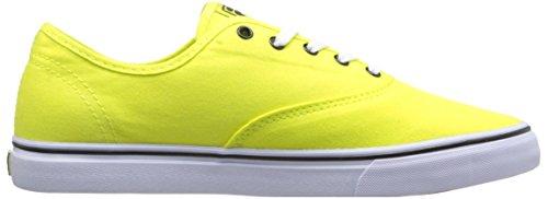 Fila Vrouwen Klassieke Canvas Schoen Neon Groen / Wit / Zwart