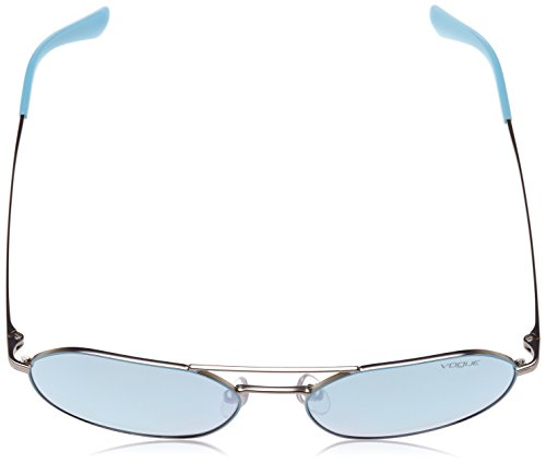 Matte Azure Silver VO4022S Sonnenbrille Vogue wZqF1E0xF