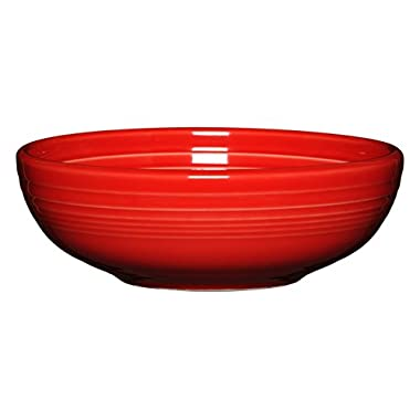 Fiesta 38 oz Bistro Serving Bowl, Medium, Scarlet