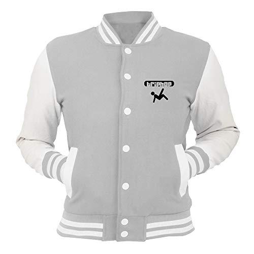 Grigio Hop Wtc0979 Trip Giacca T shirtshock College tdhCsQr