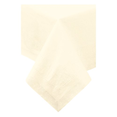 - Hoffmaster 220617 Tissue/Poly Tablecover, 3 Ply, 108