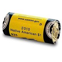 2010 D Native American Sacagawea Original Unopened US Mint Roll Brilliant Uncirculated