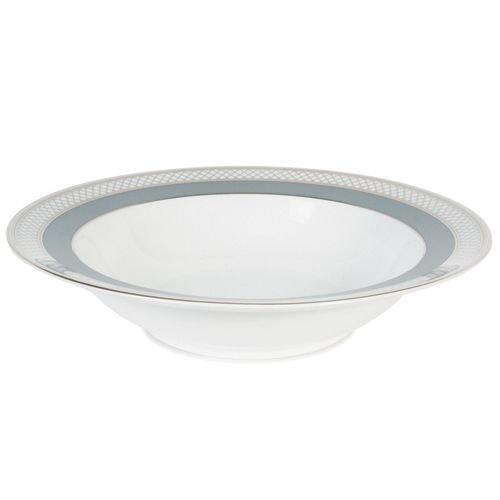 en Silk Ribbon Slate Rim Soup Bowl ()