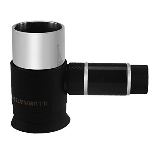 Astromania Deluxe 12mm Illuminated Crosshair Eyepiece - for perfectly guided astrophotos by Astromania