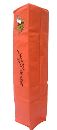 Minnesota Vikings LaQuon Treadwell Autographed Hand Signed Vikes Full Size Logo Football Touchdown End Zone Pylon with Proof Photo of Signing and COA- Ole Miss University of Mississippi Rebels