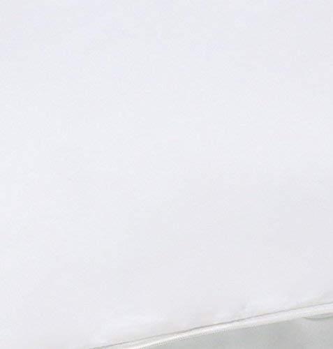 algod/ón Suave dise/ño de Estampado de Tigre y Cebra Color Blanco y Negro 50 x 150 cm CiCiDi Lavable a m/áquina con Cremalleras Funda de Almohada