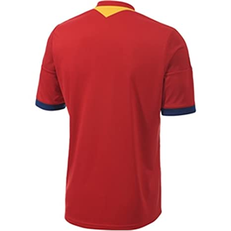 Amazon.com : adidas 2013-14 Spain Home Football Soccer T-Shirt Jersey : Sports & Outdoors