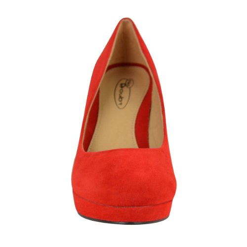 Fashion Suede Chaussons Femme Pour Thirsty Red Rouge rxSqrOwp