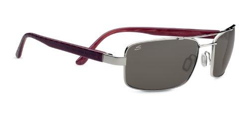 Tosca M de Silver Shiny Lunettes Argent Serengeti Soleil Eyewear qXwaxv6vAI