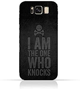 Samsung Galaxy S8 Plus TPU Silicone Protective Case with Breaking Bad - I am the one who knocks Design
