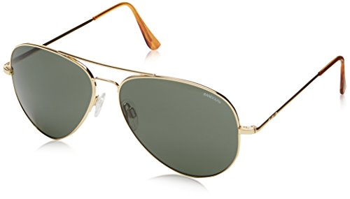 Randolph Concorde Aviator Sunglasses,23K Gold Plated,61 - Aviator Sunglasses Gold Plated