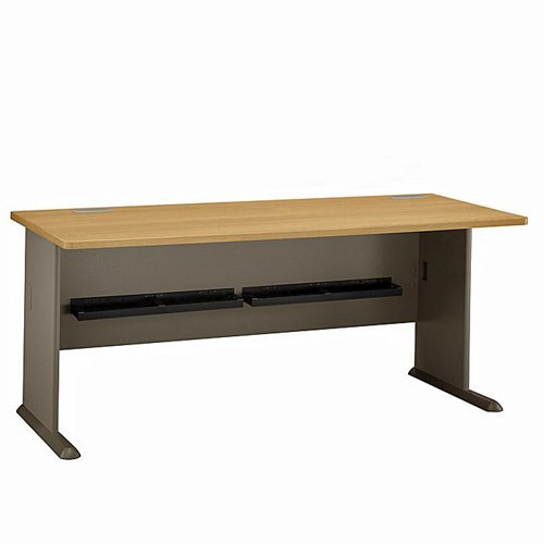 Bush BBF Series A 72W Desk in Slate
