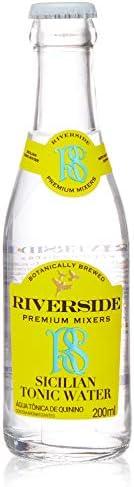 Água Tônica Premium, Limão Siciliano, 200ml, Riverside