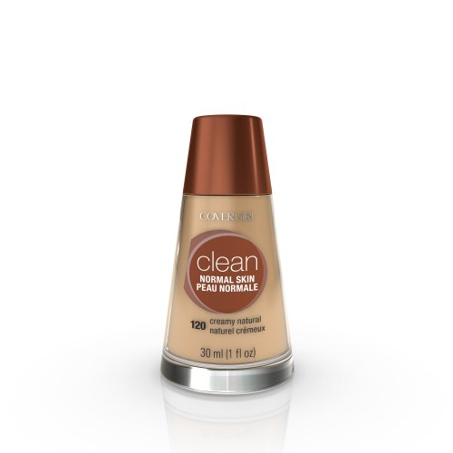 CoverGirl Clean Liquid Makeup, Creamy Natural (N) 120, 1.0-Ounce Bottles (Pack of ()