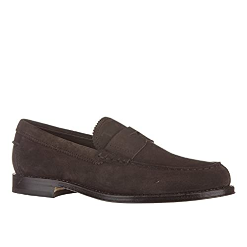 8bf30b40070 hot sale Tod s men s suede loafers moccasins formale brown - sgacog.org