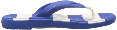 Blue Unisex Sea White Line Crocs Beach Flip UFpZqdcR0w