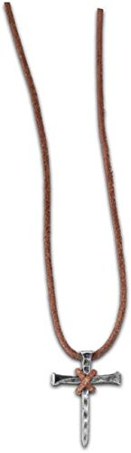 Nail Cross Necklace - Christian Necklace, Regular, (Kerusso Christian Accessories)