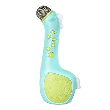 Handheld Usb Ktv Player Mic Speaker Karaoke Microphone Children Kids Toys Mic Speaker Girls Toys Music Instruments Toys Toy Musical Instrument
