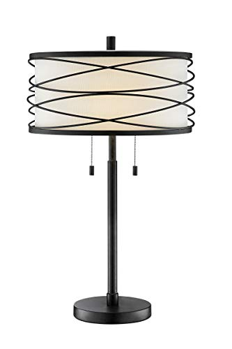 Lite Source Lumiere Black Metal Table Lamp (Lumiere Metal)