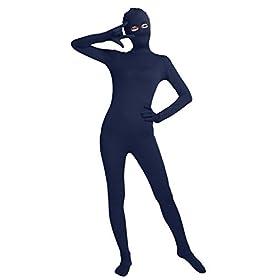 - 31JyWj1QWEL - Texmex Full Bodysuit For Women Costume Long Sleeve Unitard Zentai Suit