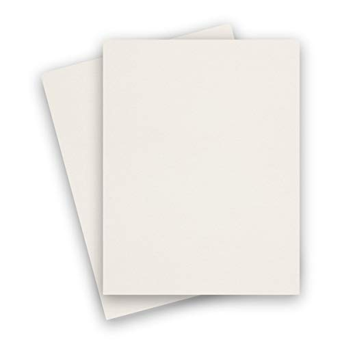 Cryogen White 8-1/2-x-11 Cardstock Paper 25-pk - PaperPapers 240 GSM (89lb Cover) Letter Size Card Stock Paper - Business, Card Making, Designers, Professional and DIY - Cardstock Metallic Paper Curious