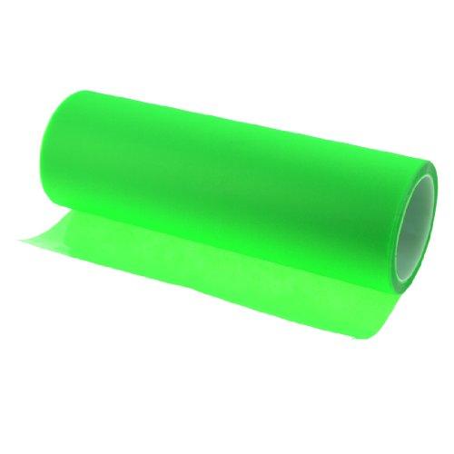 Flashing Green Car Headlight Film Color Change Sticker 9M