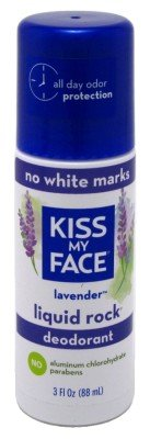 (Kiss My Face Deodorant Liquid Rock Roll On Lavender 3 Ounce (88ml) (2 Pack))