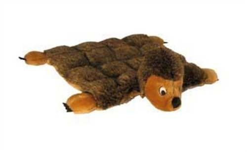 Plush Puppies Dog Squeaker Mat Toy, Hedgehog, Large, My Pet Supplies