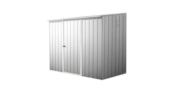 Ahorro de espacio 2, 26 m x 1, 52 galpón Zinc mengmai Metal, caseta de jardín, almacenaje, tienda de granja cacheo Metal: Amazon.es: Jardín