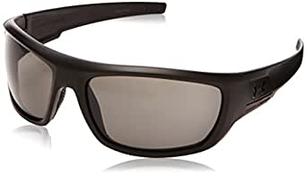 Under Armour Prevail Polarized Sunglasses, Shiny Black Frame/Gray & Multi Lens, One Size