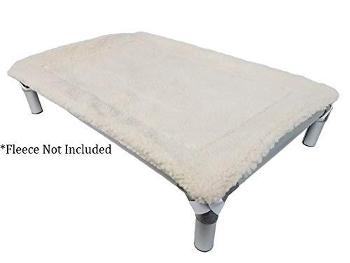 Kuranda All-Aluminum (Silver) Chewproof Dog Bed - XXL (50x36) - 40 oz. Vinyl - Smoke by Kuranda (Image #8)
