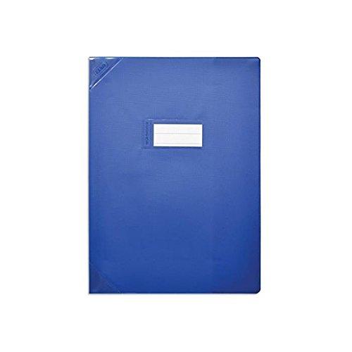 Elba–Set di 5protège-cahiers PVC 150STRONG Line A4(21x 29,7cm) opaco blu