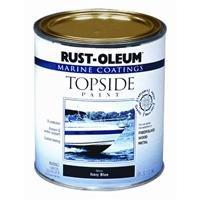 Rust-Oleum 206999 Marine Topside Paint, White, 1-Quart (Top Side Paint)