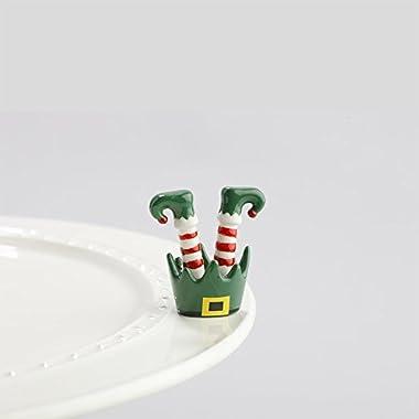 Nora Fleming Elf Feet Mini - Nora Fleming Jingle Toes Mini A143