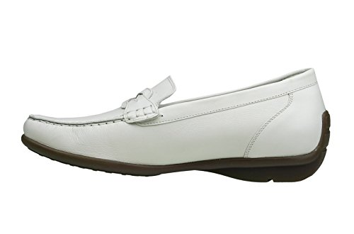 Waldläufer Damen Slipper Harriet Weiß (431009 PÖL186 150)