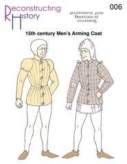 15th Century Costumes (15th Century Burgundian Arming Coat Pattern)
