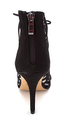 Chelsea & Zoe Phemie Dames Sandalen En Slippers Black