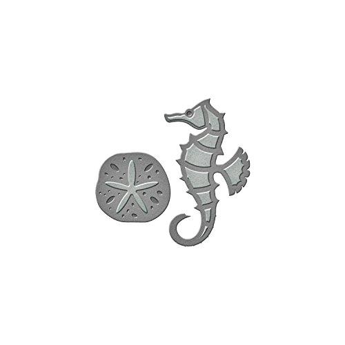 Dollar Die (Spellbinders S1-015 D-Lites Seahorse & Sand Dollar Etched Dies)